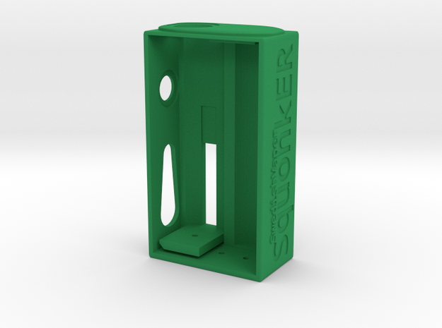 SwedishVaper SquonkER Style B body only in Green Processed Versatile Plastic