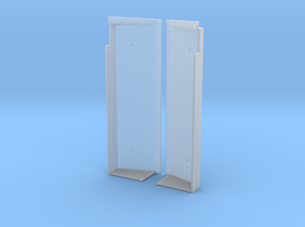 SN0001 SD40-2W Wide Notch Snow Shields 1/87.1 in Smoothest Fine Detail Plastic