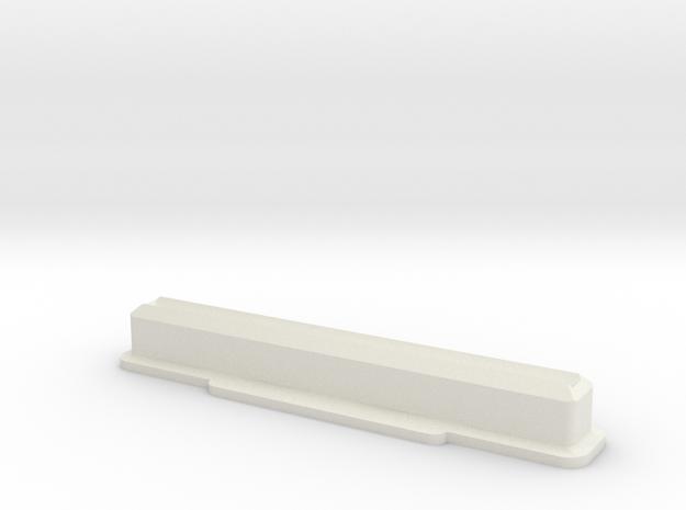 Super Nintendo/Super Famicom Cartridge Dust Plug in White Natural Versatile Plastic