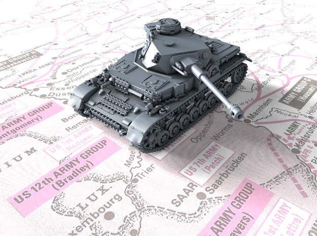 1/144 German Pz.Kpfw. IV Ausf. G Medium Tank in Frosted Ultra Detail