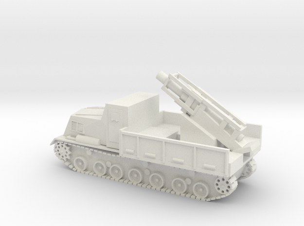 Japanese Ha-To 300mm Armoured Mortar Carrier 15mm  in White Strong & Flexible