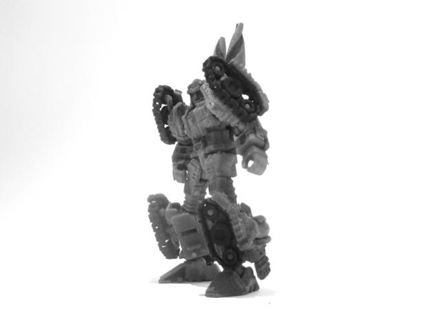 """01-GDT """"Crusader"""" 3d printed (Painted) 01-GDT Crusader: Robot Mode"""