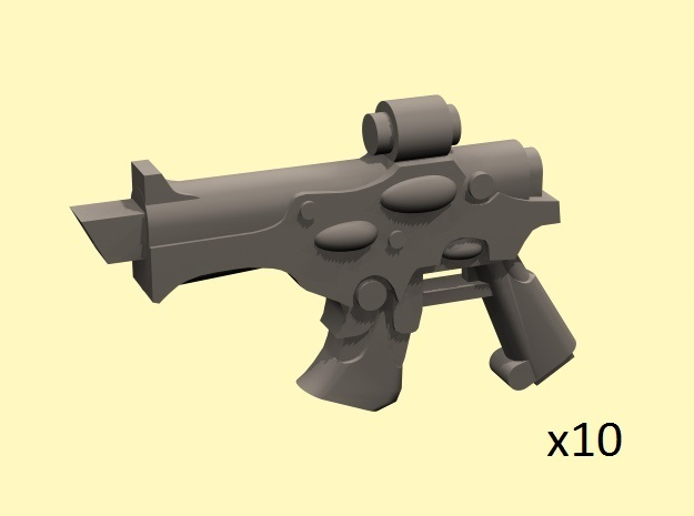 28mm Space Elf projectile pistols