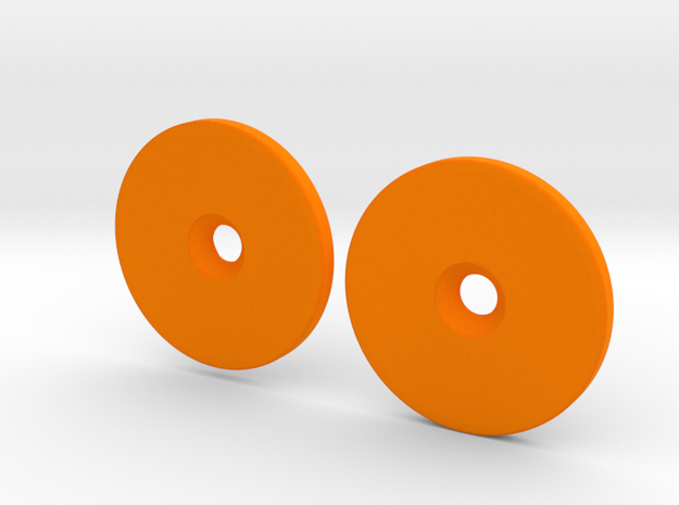 Spinner Caps (SD-M1) in Orange Strong & Flexible Polished