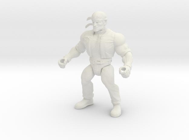 Kung_Fury in White Natural Versatile Plastic