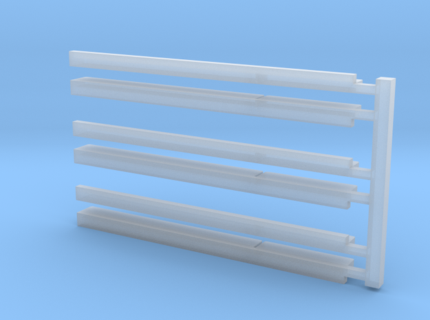 N Snowshields in Smooth Fine Detail Plastic