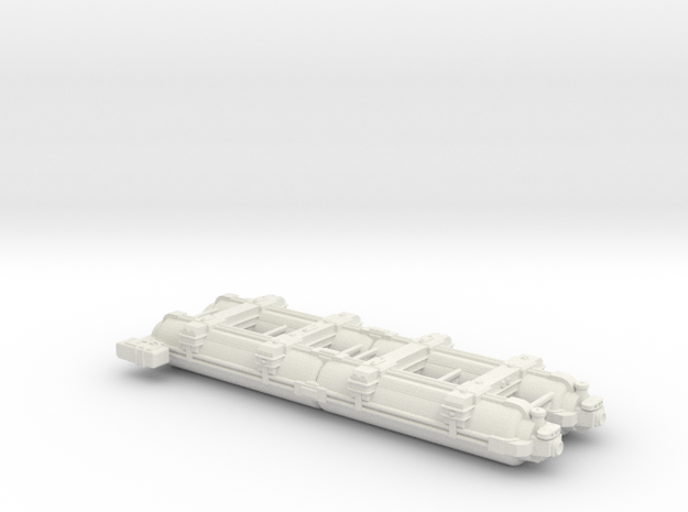 Omni Scale WYN Auxiliary Dreadnought (AxDN) SRZ in White Strong & Flexible