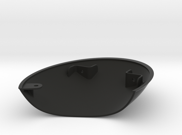 Sideswipe Cowl Lh in Black Natural Versatile Plastic
