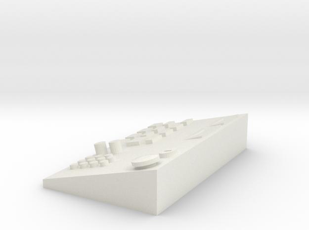 Fahrpult 1/14 in White Strong & Flexible: 1:14
