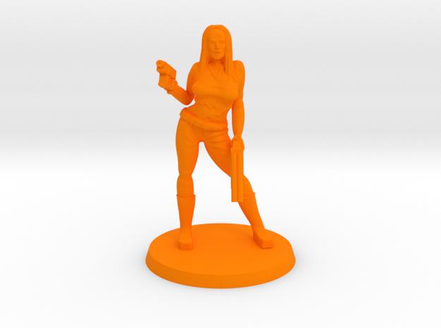 Katrina Bounty Hunter in Orange Processed Versatile Plastic