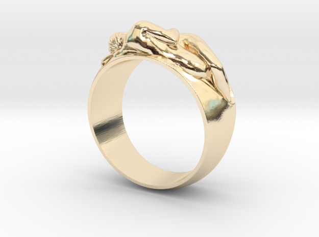 Ring EDEN Hot Ring  in 14K Gold: Small