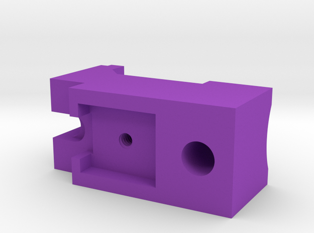 JG vsr10 hopup block in Purple Strong & Flexible Polished