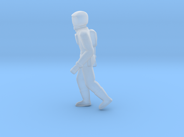 tiny space person 3 in Smoothest Fine Detail Plastic