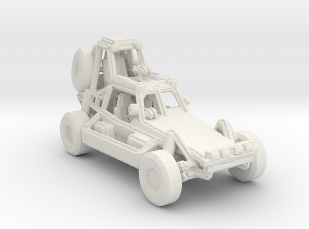 Desert Patrol Vehicle v1 1:220 scale in White Natural Versatile Plastic