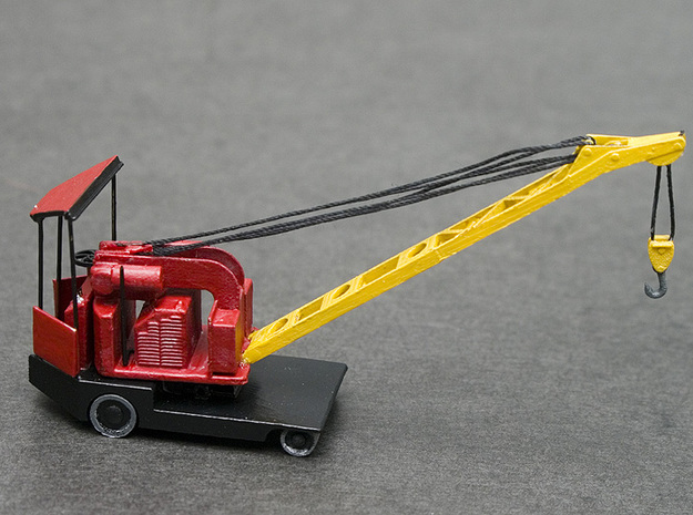 Elwell-Parker 1 Ton Crane HO Scale (1:87) in Frosted Ultra Detail