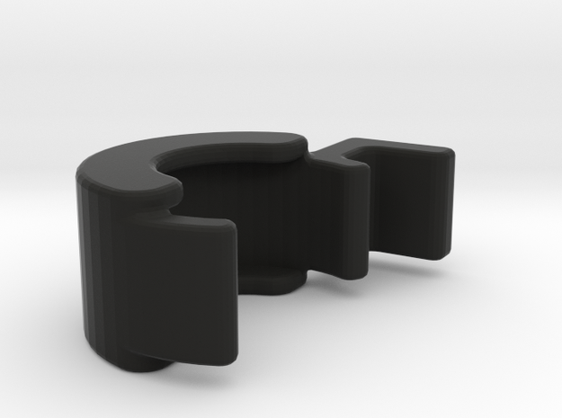 TLF# - LOCKRING - MM510 - Rev.2 in Black Natural Versatile Plastic