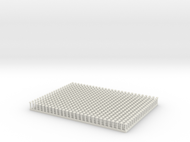 ANSI Button Head Rivet 0.080 Inch Diameter in White Strong & Flexible