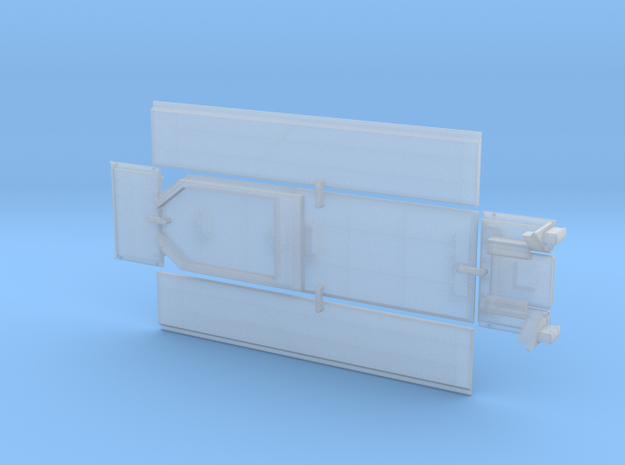 ATSF TENDER MALLET flat/parts in Smoothest Fine Detail Plastic