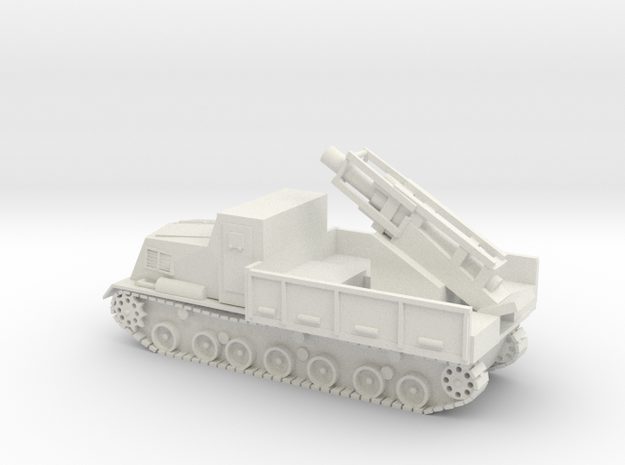 Japanese Ha-To 300mm Mortar Carrier WWII - 1/56 in White Natural Versatile Plastic