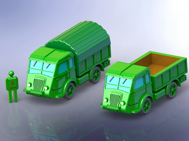 French Renault AGP 3to GS Truck 1/285