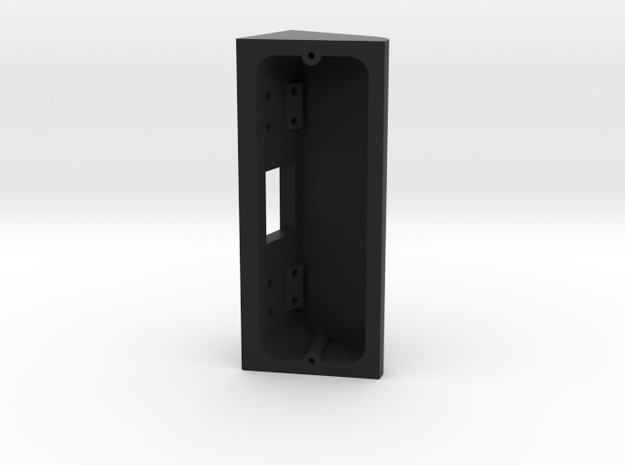 Ring Doorbell Pro 70 degree Wedge with Updated Rea in Black Natural Versatile Plastic