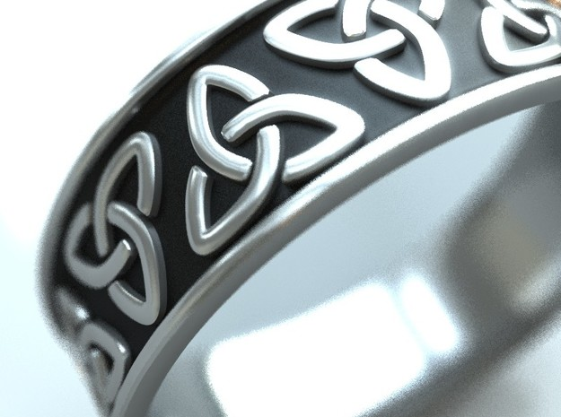 The Ancient Celtic Ring in 14K Gold