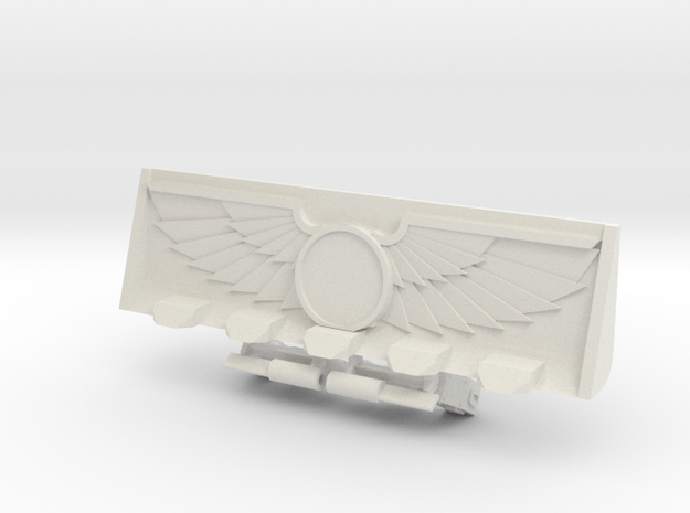 Devotional Bulldozer Blade Kit in White Natural Versatile Plastic