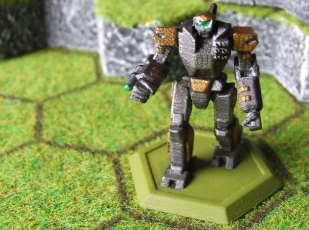 Mecha- Odyssey- Hektor (1/285th) 3d printed Painted