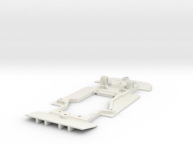 Slot.It Porsche GT1 EVO 98 - stiff chassis in White Strong & Flexible