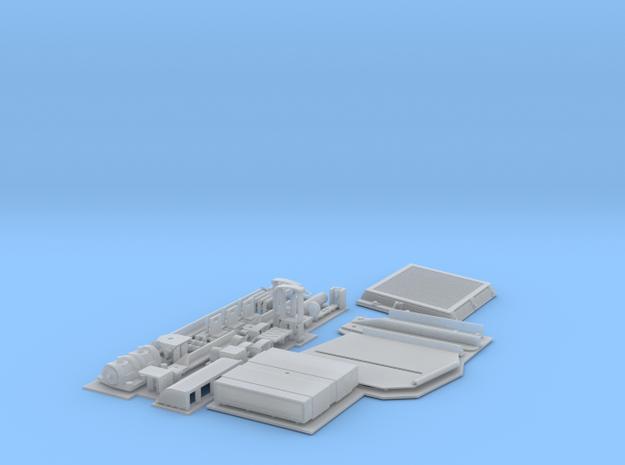 Hetzer additional set for Joe in Smooth Fine Detail Plastic