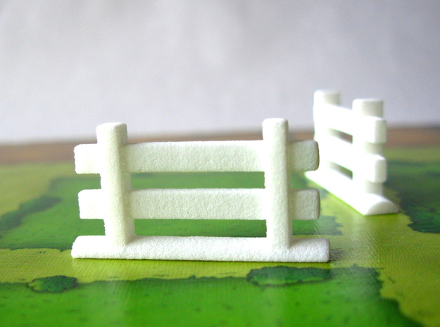 Agricola Fences, set of 77 3d printed Fences on the Agricola board