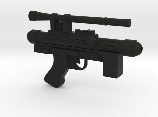 Star Wars Blaster SE-14C 1:2.5 scale in Black Natural Versatile Plastic