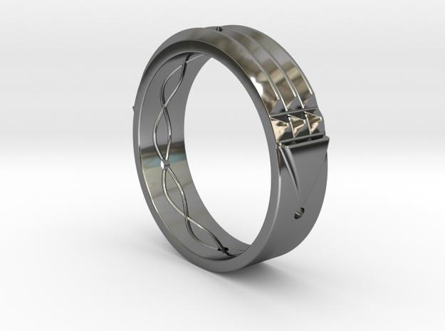 Atlantis Ring in Premium Silver: 9 / 59