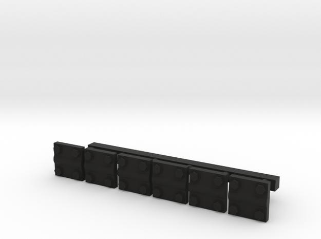 ATRKPLTE (repaired) in Black Strong & Flexible