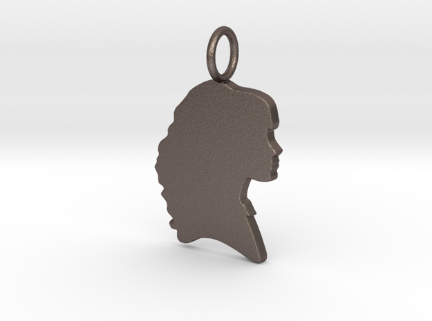 Hermione Silhouette Pendant in Stainless Steel