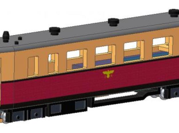 VT 137 323 (1938) in Smooth Fine Detail Plastic