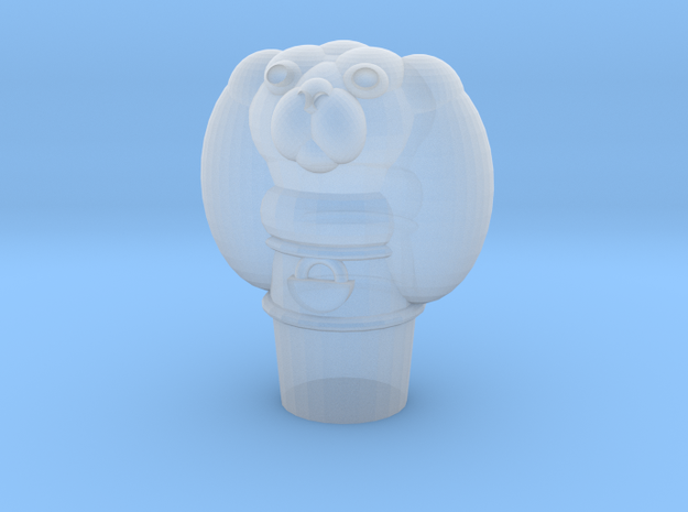 Pupper Stopper IV in Smooth Fine Detail Plastic