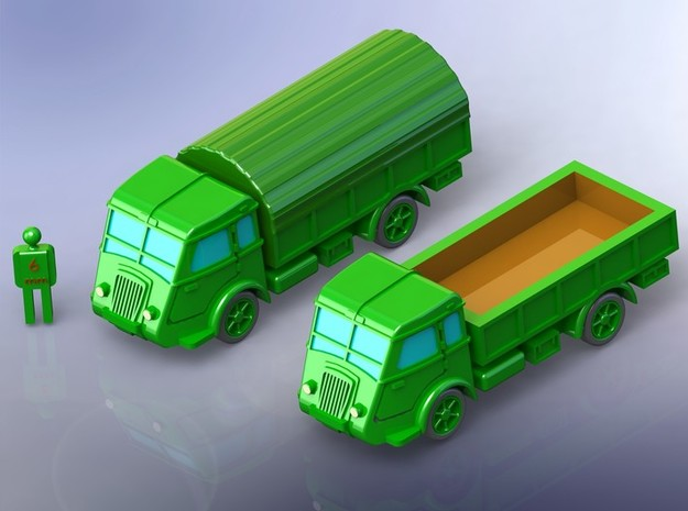 French Renault AGR GS Truck 1/144