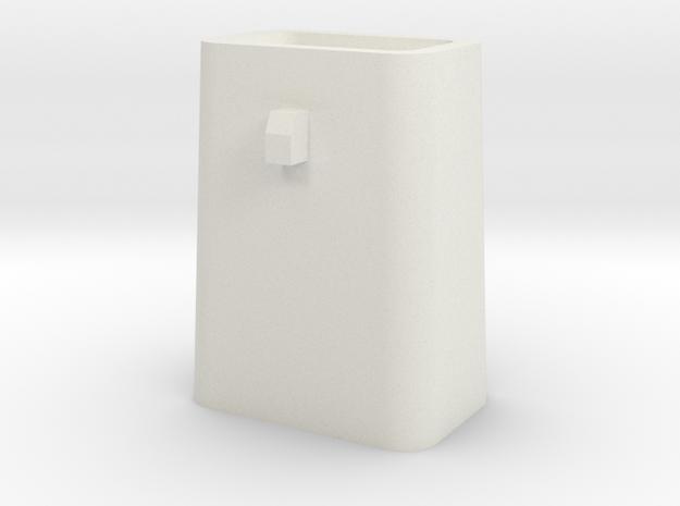 Stahlkokille 2 Zapfen Quer mit Guß 1:120 in White Natural Versatile Plastic