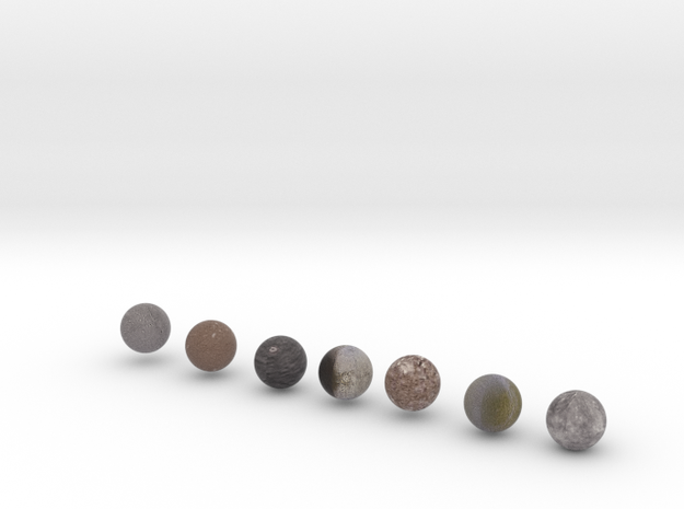 Our Solar System Moons Pack 2 in Full Color Sandstone