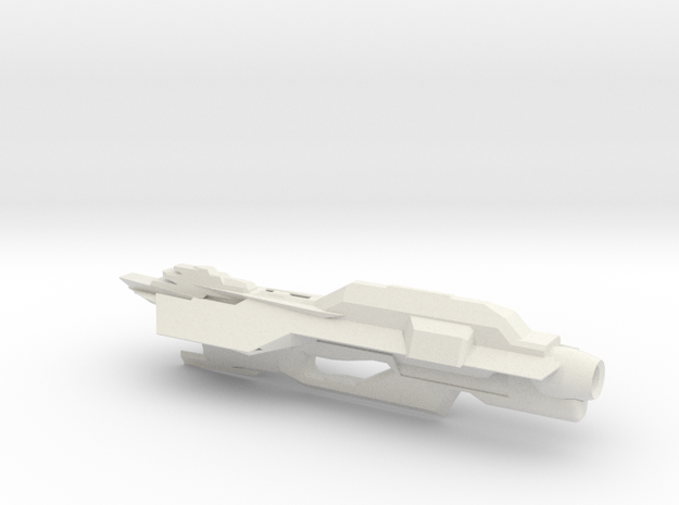 USS Turtle in White Strong & Flexible