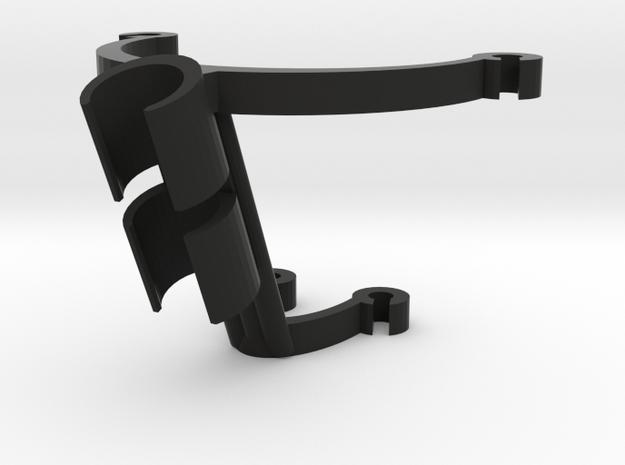 Cello Mic Mount 12mm Vertical in Black Natural Versatile Plastic