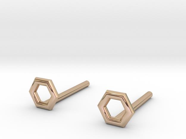 Hexagon studs