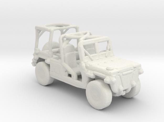 M1161 Growler 1:220 scale in White Natural Versatile Plastic