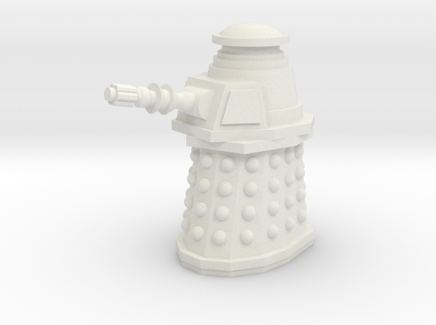 Special Weapons Dalek in White Strong & Flexible