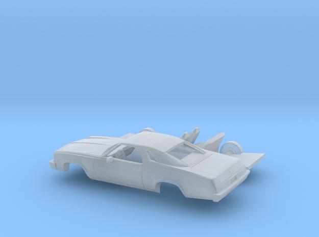 1/160 1975 Chevrolet Chevelle Malibu Classic Coupe in Smooth Fine Detail Plastic