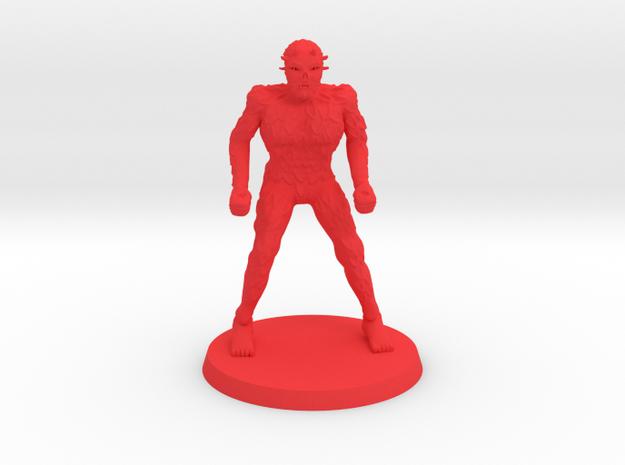 Possessed One in Red Processed Versatile Plastic