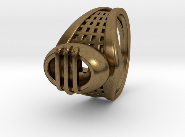 Wakefield Ring (001) in Natural Bronze