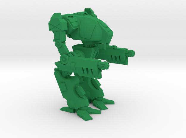 Ravager Type Combat Walker - 6mm in Green Processed Versatile Plastic