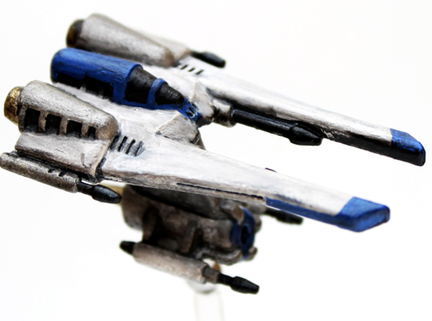 Toth Starfighter: 1/270 scale in White Strong & Flexible